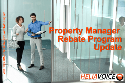 Property Manager Rebate Program